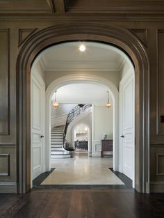 Douglas VanderHorn Architects | Greenwich Normandy | Entry Hall