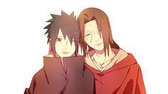 Uchiha Sasuke and Uchiha Itachi.