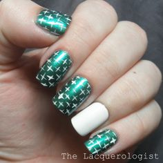butter LONDON Thames: Swatch and Nail Art!