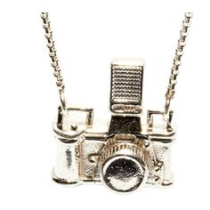 Kiel Mead Studio Camera Necklace ($200) found on Polyvore featuring jewelry, necklaces and accessories