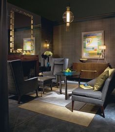 Office space on pinterest therapist office counseling for Beautiful office space design