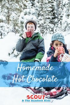 Gumboot Kids love to be out exploring in nature no matter the weather. Beauty is all around us and you never know what interesting discoveries you will find. When you have finished exploring, sometimes it's nice to enjoy a warming treat. Hot chocolate tastes even better outside. This is our favourite hot chocolate recipe!