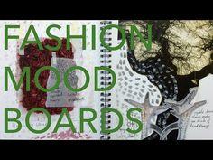 Fashion Design Tutorial 2: Concept Dev & Mood Boards - YouTube