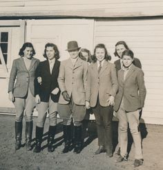 Harriet Rogers, Sweet Briar College Riding instructor from 1924-1963, was an expert horsewoman who developed the College's riding program. The Sweet Briar College Harriet Rogers Riding Center is named in her honor.  Sweet Briar College, some rights reserved. CC-BY-NC.