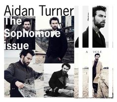 """Aidan turner"" by sahrish-hossain ❤ liked on Polyvore featuring men's fashion and menswear"