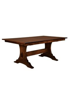 mission style trestle dining table plans. amish benjamin trestle table mission style dining plans