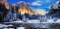 Original Landscape Photography by Ira Estin Scenic Photography, Winter Photography, Color Photography, Landscape Photography, Digital Photography, Happy Winter Solstice, Beautiful Winter Scenes, Winter Sunset, California National Parks