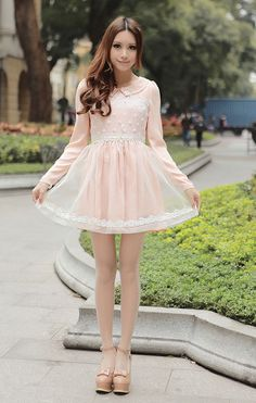 Mango Doll - Floral Princess Lace Chiffon Dress, $45.00 (http://www.mangodoll.com/all-items/floral-princess-lace-chiffon-dress/)