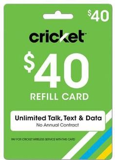 Free Cricket Wireless reload card codes are here! Visit this website and learn how you can add free minutes to your Cricket Wireless phone! Cricket Phones, Cricket Wireless, Wireless Service, Phone Service, Straight Talk Plans, Free Cell Phone, Phone Deals, Free Cards, Phone Card