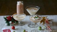 Drink your dessert in the form of these cookie-flavored holiday cocktails