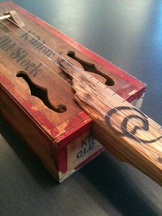 cigar box guitar. luv the rustic look.  Visit & Like our Facebook page! https://www.facebook.com/pages/Rustic-Farmhouse-Decor/636679889706127