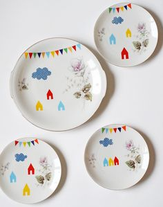 Adorable plates!