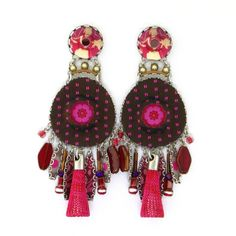 Ayala Bar Cerise Earrings 117362 Fall 2014 | Artfully Adorned