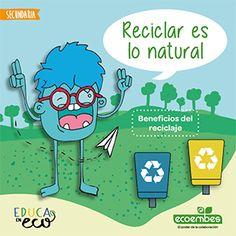 Recursos educativos de reciclaje | Ecoembes Recycling, Ideas, Environment, Blue Prints, Alphabet Soup, Brochures, Earth, Budget, Upcycle