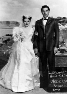 THE VINTAGE FILM COSTUME COLLECTOR: JUDY GARLAND AND JOHN HODIAK IN THE HARVEY GIRLS