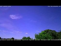 Adelaide weather time Lapse  Wed 16 03 2016
