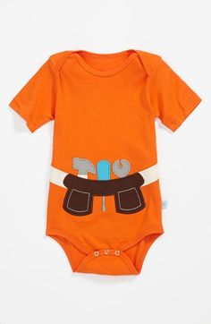 RuggedButts Tool Belt Bodysuit (Baby Boys) available at #Nordstrom