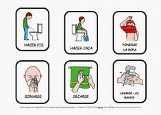 El profe y su clase de PT: Imágenes de acciones y con pictogramas