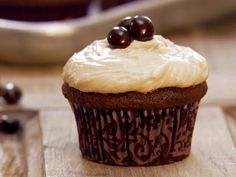 Get Chocolate Espresso Cupcakes Recipe from Food Network