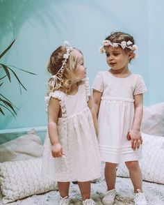 Pretty and cute in white #adorable #flower head bands