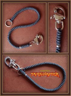 Paracord Lanyard. Can also be used for self defense.