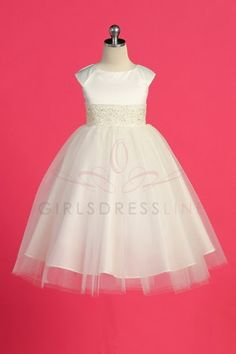 3d99f1b69 girls Ivory Flower Girl Dresses, Tulle Flower Girl, Embroidered Lace,  Wedding Planners,