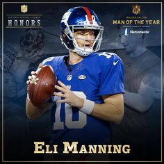 b2b6b582a Congrats to QB Eli Manning on being named a finalist! by nfl