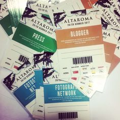 #Altaroma 26th-29th january  Altaroma badges just arrived!  Almost ready!