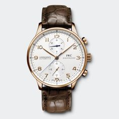 IWC: IW371480 Watch Front  http://www.iwc.com/en/collection/portuguese/IW3714/