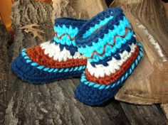 Baby Mocs..Making these for Logan if I can get the pattern! How cute are they! :)
