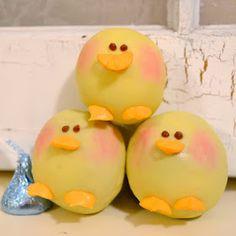 Chick cake ball