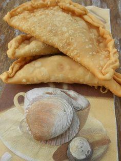 Cocina Chilena . Recetas Caseras: Empanadas Fritas de Mariscos