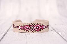 Leather Bracelet for woman // Hippie Bracelet// by Melifluo
