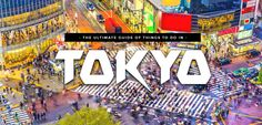 Look no further: here's the ultimate list of things to do in Tokyo as grouped per district in order to save you time & effort in organizing your itinerary!
