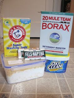 Leading Them To The Rock : Homemade Laundry Detergent/Great for Sensitive Skin
