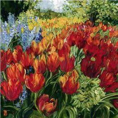 Tulips by Bobbie Burgers