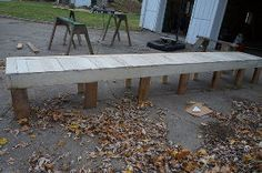 turning an old plank walkway into window seats, diy, home decor, home improvement, large home improvement projects, repurposing upcycling, woodworking projects
