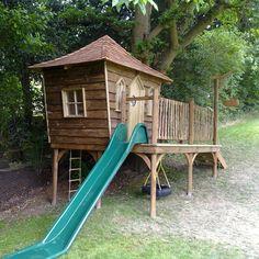 Children's Tree Houses & Playhouses   Squirrel Design