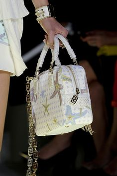 0eb24d47620 Versace Spring 2012 - Details Classy Lady