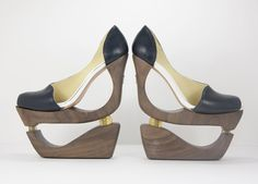 Silvia Fado impact absorber shoes--to improve the comfort of foot bondage