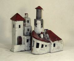 CERAMIC FORT - Southern France Fort Sculpture on Etsy, $250.00