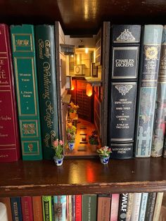 14 Book-Nook Shelf Inserts That Are The . - 14 Book Nook Shelf Inserts That Are Shockingly Creative And Cool - World Of Books, Miniature Crafts, Miniature Rooms, Mini Things, Book Aesthetic, Book Nooks, Reading Nooks, Book Lovers, Book Art
