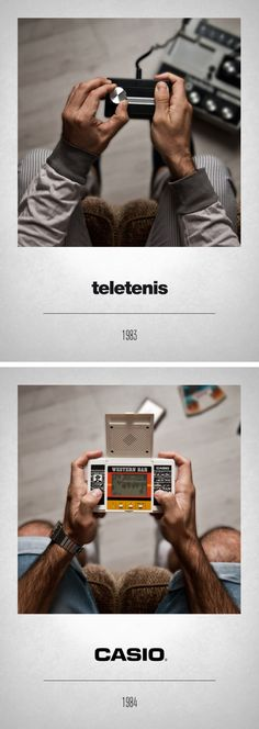 Javier Laspiur is an Art Director from Madrid, Spain. He's created a photo series depicting the history of video game controllers titled CONTROLLERS. Evolution Of Video Games, History Of Video Games, Arcade, Playstation, Deco Gamer, Joystick, Make My Day, Nostalgia, Geek Games
