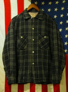 50's TOWNCRAFT Wool Shirts