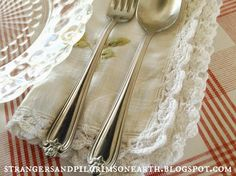 making table linens - Google Search