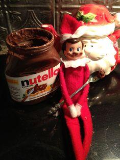 "Cute ""Elf on the Shelf "" ideas."