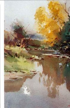 To Most Of Us Watercolor Is A Psychological Struggle With ...