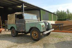 "Land Rover Series 1 80"" Barn Find | eBay"