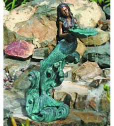 Elegant Mermaid Fountain