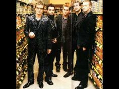 Nsync Up Against The Wall
